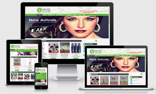 Theme wordpress Shop Online đẹp