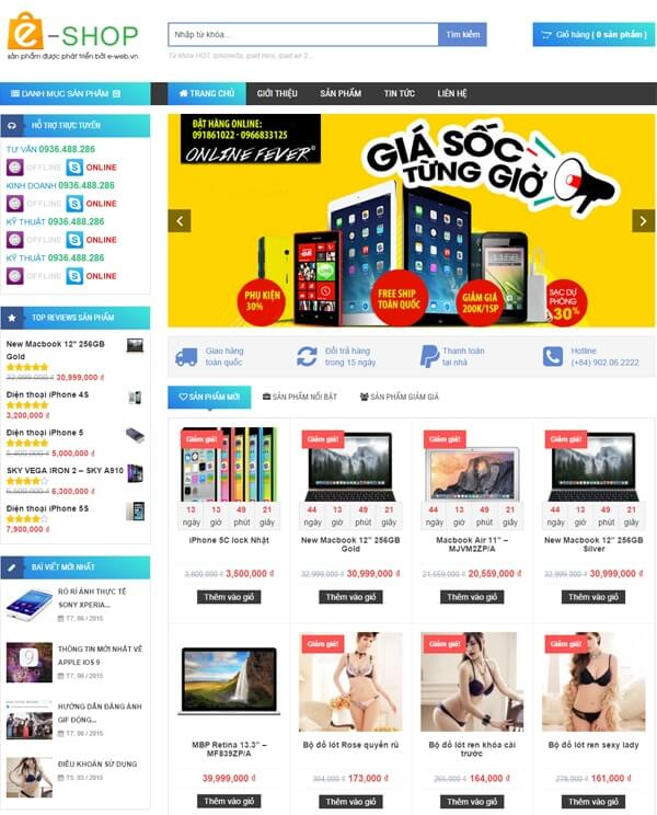 thiet-ke-web-shop-online-bang-wordpress-uy-tin